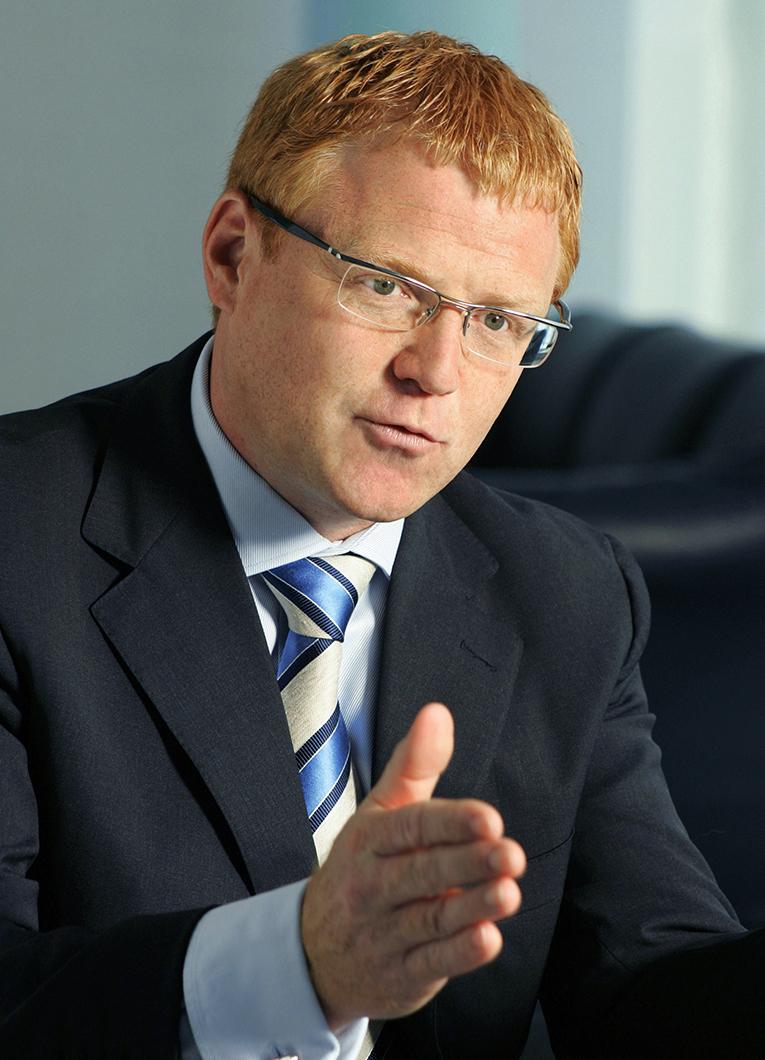Portrait Andre Moschner für Dresdner Bank AG in Frankfurt am Main (ehemaliges Vorstandsmitglied der Dresdner-Bank AG). business_portrait_dresdner-bank_frankfurt_02_klewar-photographie