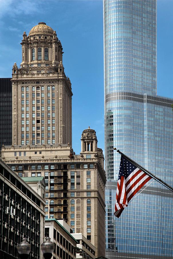 Chicago; Architektur-Foto; Jewelers Building; Trump International Hotel and Tower; historische Wolkenkratzer in Chicago_architektur_foto_frankfurt_chicago_skyline_01_klewar-photographie_6509