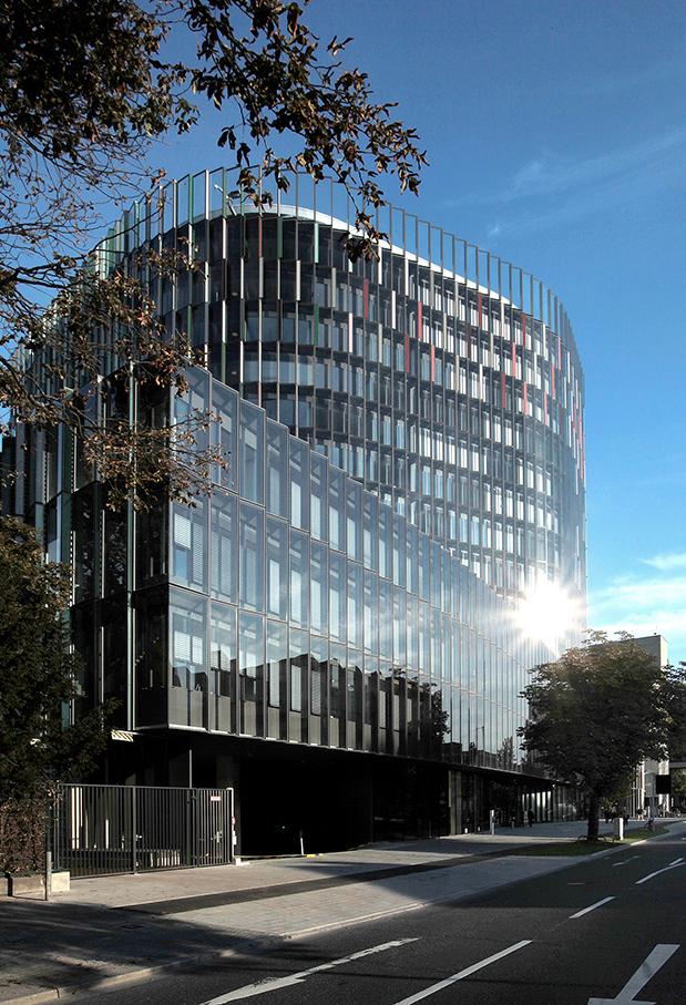 KfW Westarkade; Frankfurt; Architektur-Foto; energieeffizientes Hochhaus; Bürogebäude_architektur_foto_frankfurt_kfw_westarkade_klewar-photographie