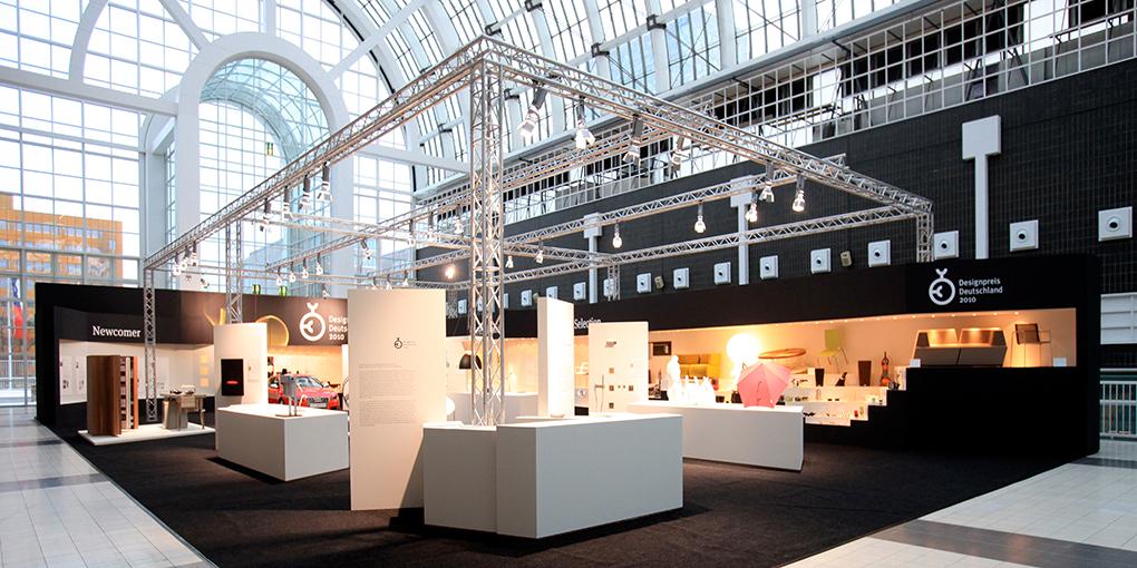 Galleria Messe Frankfurt; Sonderausstellung; Rat für Formgebung; Designpreis Deutschland 2010; Fotos Messestand; Fotos Messebau, messe_foto_frankfurt_ambiente_tendence_klewar-photographie_9613
