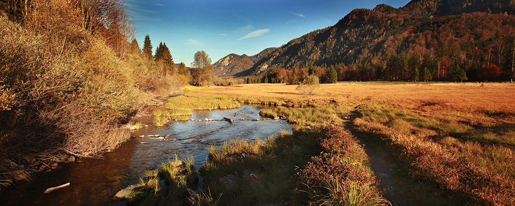 Fotograf Frankfurt; Berge; Bach; Fluß; Herbst; Herbst-Licht; Herbst-Stimmung; landschaft_foto_frankfurt_bayern_chiemgau_klewar-photographie_8547